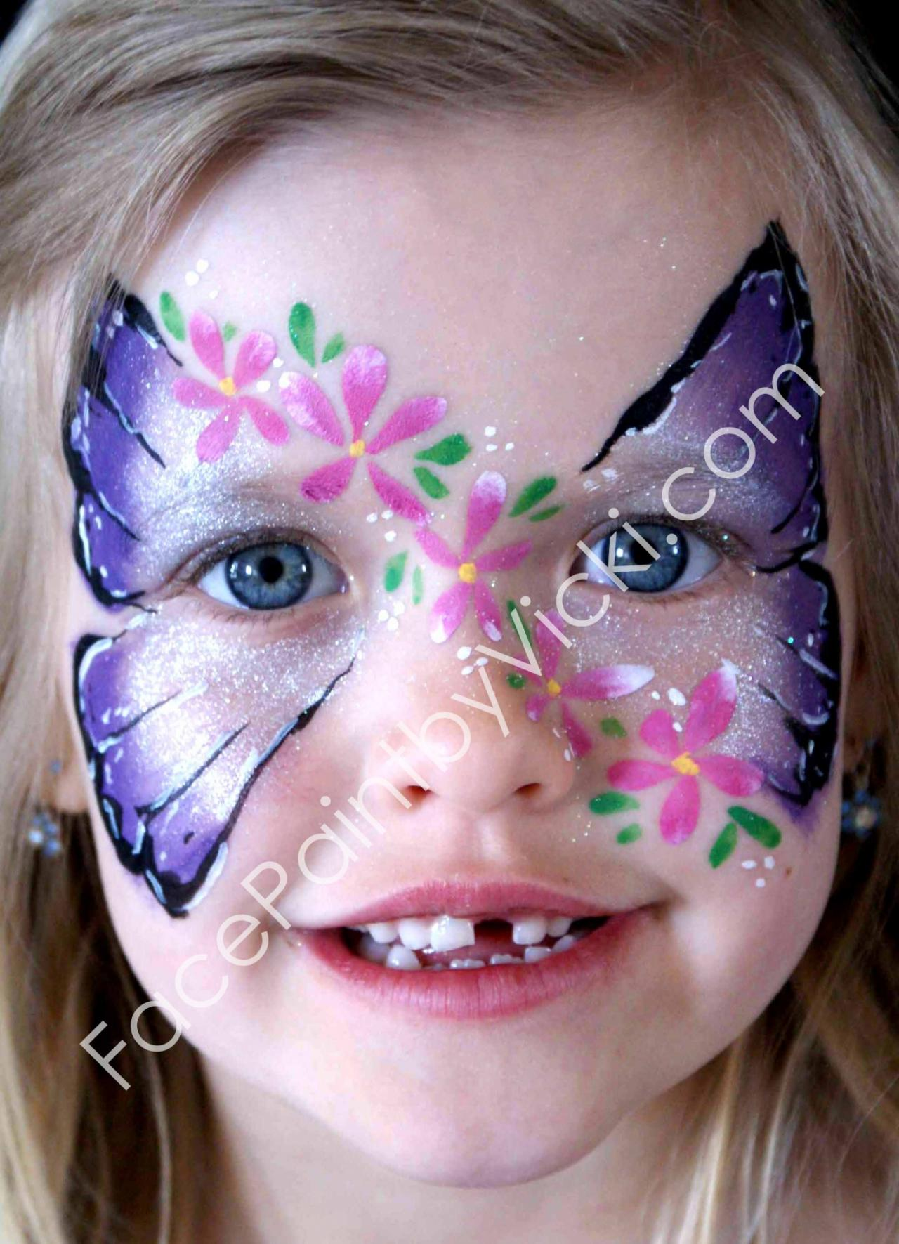Butterfly Face